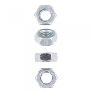 Eureka Nut Hex Zinc Plated 10mm Quantity:8
