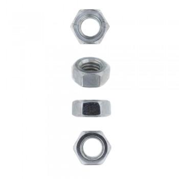 Eureka Set Screw & Nut Galvanised 6x40mm Quantity:8