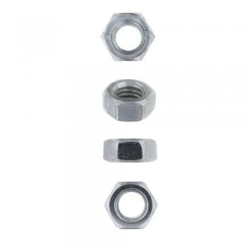 Eureka Set Screw & Nut Galvanised 6x50mm Quantity:6
