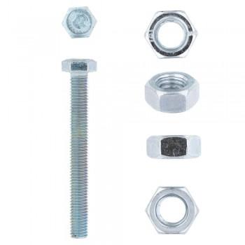 Eureka Set Screw & Nut Galvanised 8x70mm Quantity:6
