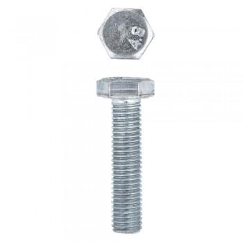 Eureka Set Screw & Nut Galvanised 12x50mm Quantity:6