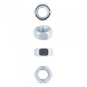 Eureka Nut Hex Zinc Plated 8mm Quantity:60