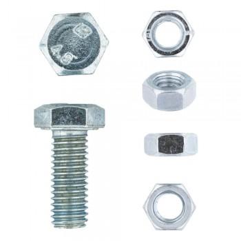 Eureka Set Screw & Nut Galvanised 8x20mm Quantity:4