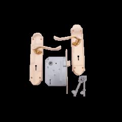 "8"" Victorian Handle Lockset"