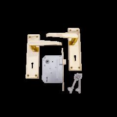 "6"" Victorian Handle Lockset"