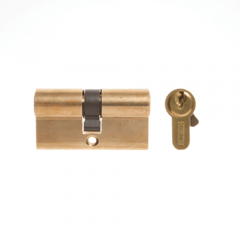 Euro Profile Cylinder Brass 60mm