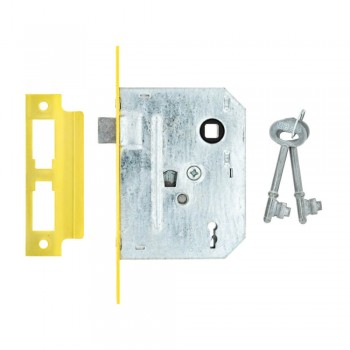 Fort Knox Brass 2-lever Only Plated Quantity:1