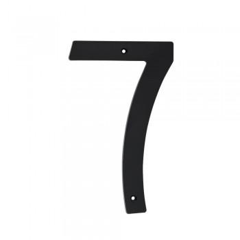 Black Plastic Number 200mm - Nr 7