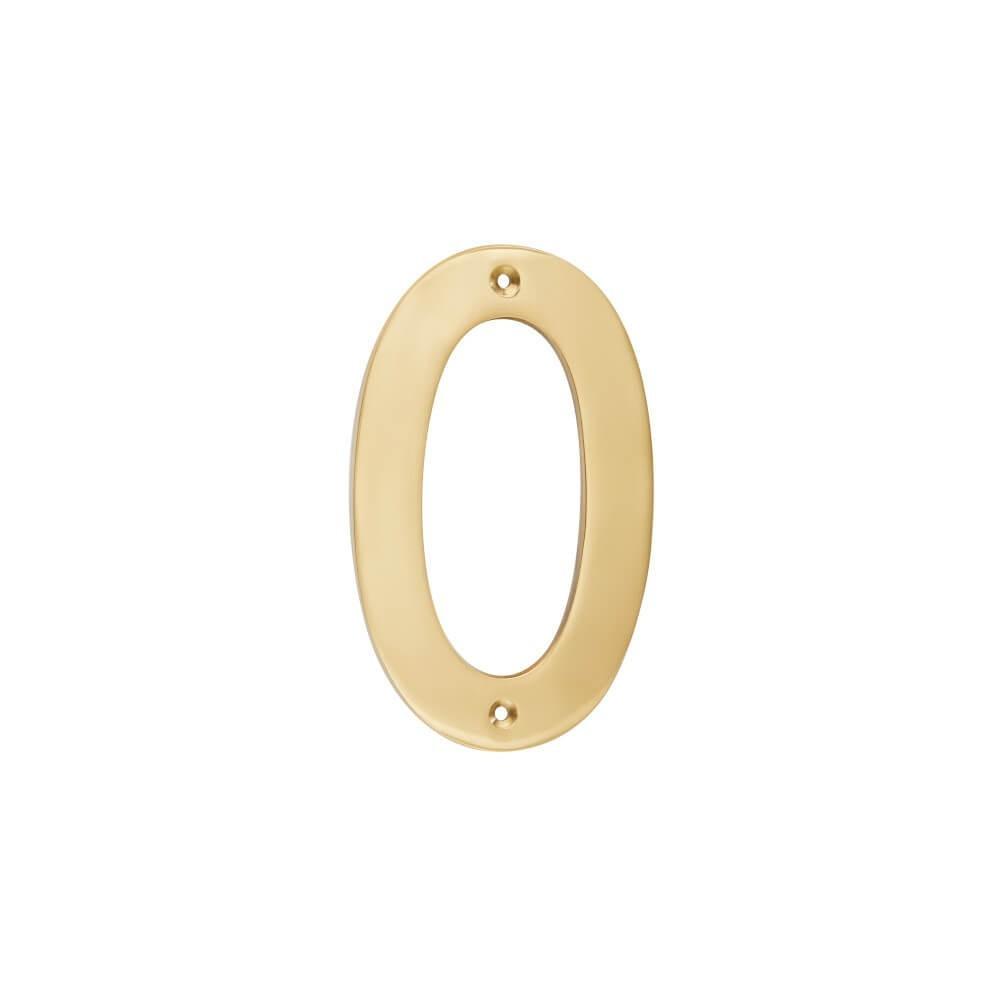 Brass Number 152mm - Nr 0,