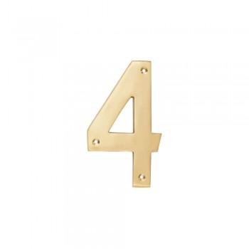 Brass Number 152mm - Nr 4,