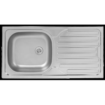 Kitchen Sink Single Bowl Drop In