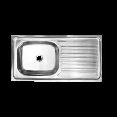 Stainless Steel Sit On Kitchen Sink