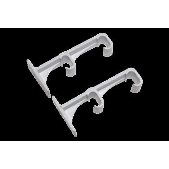 Plastic Double Brackets