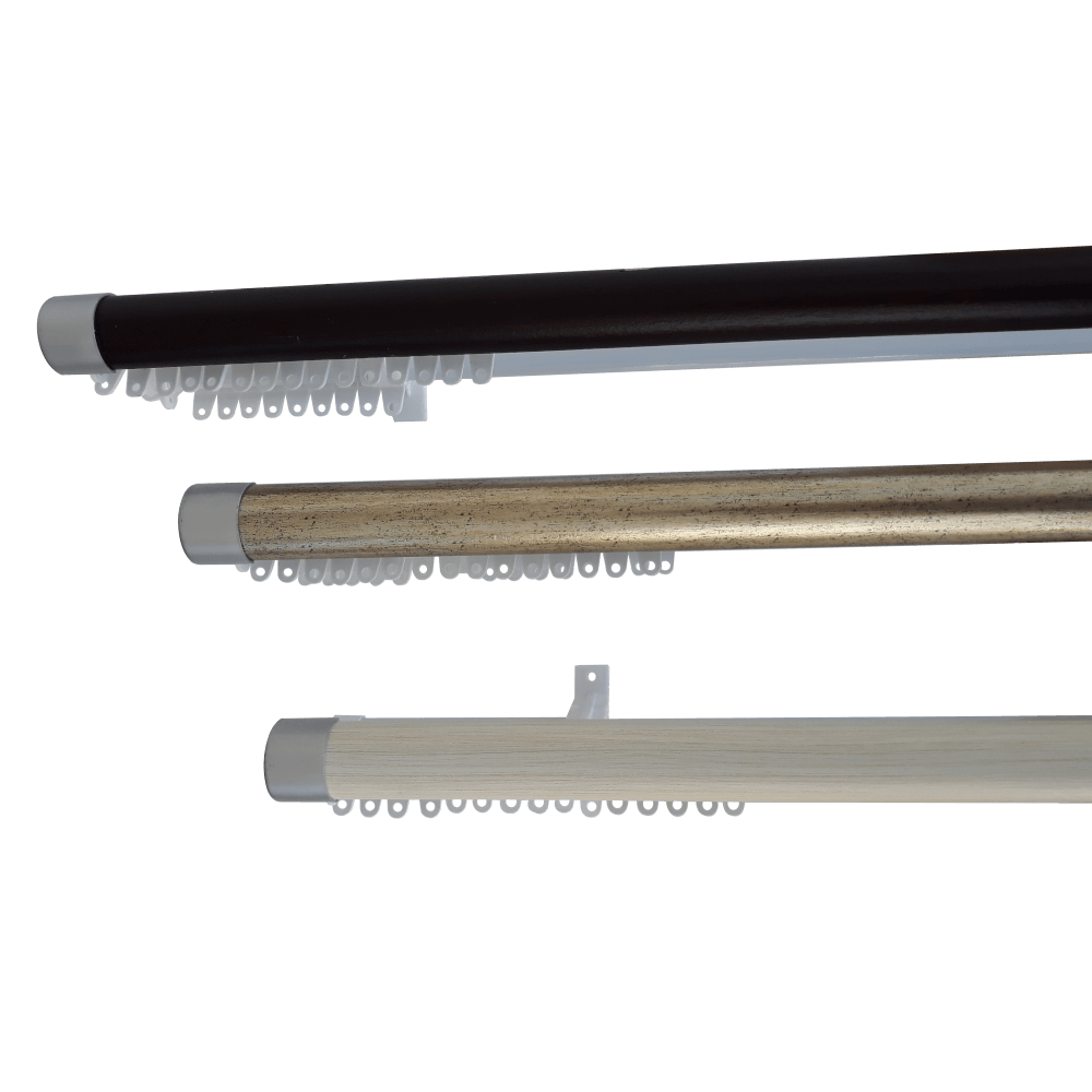 Double Track Decor 1.5m B/silver