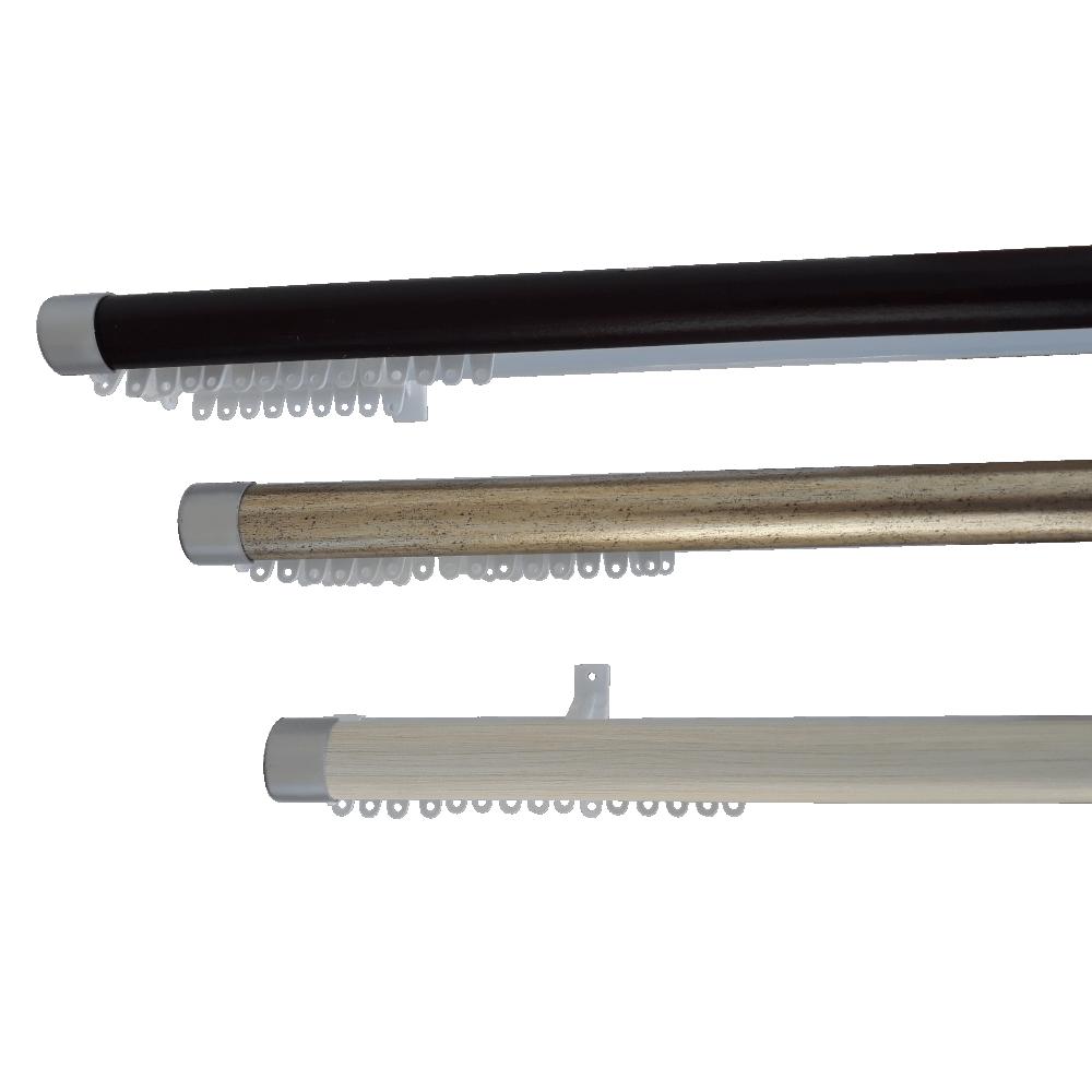 Double Track Decor 2.5m B/silver