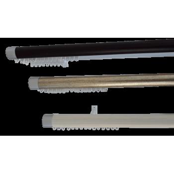 33mm Rod & Double Track 2.5m Mahogany