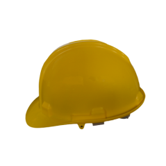 Yellow Industrial Hard Hat With Open Vent