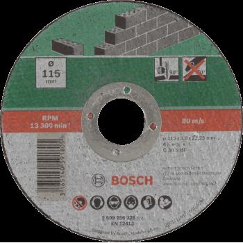 Bosch Cutting Disc Stone 115 X 22.23 X 2.5mm