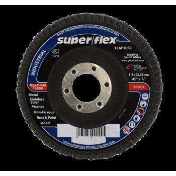 Industrial Flap Disc 115 X 22mm Grid 60