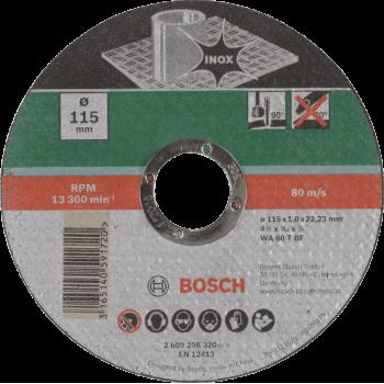 Bosch Cutting Disc Metal Straight 115 X 22.23 X 1mm