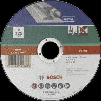 Bosch Cutting Disc Metal Straight 115 X 22.23 X 1.6mm