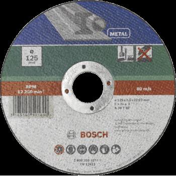 Bosch Cutting Disc Metal Straight 115 X 22.23 X 2.5mm