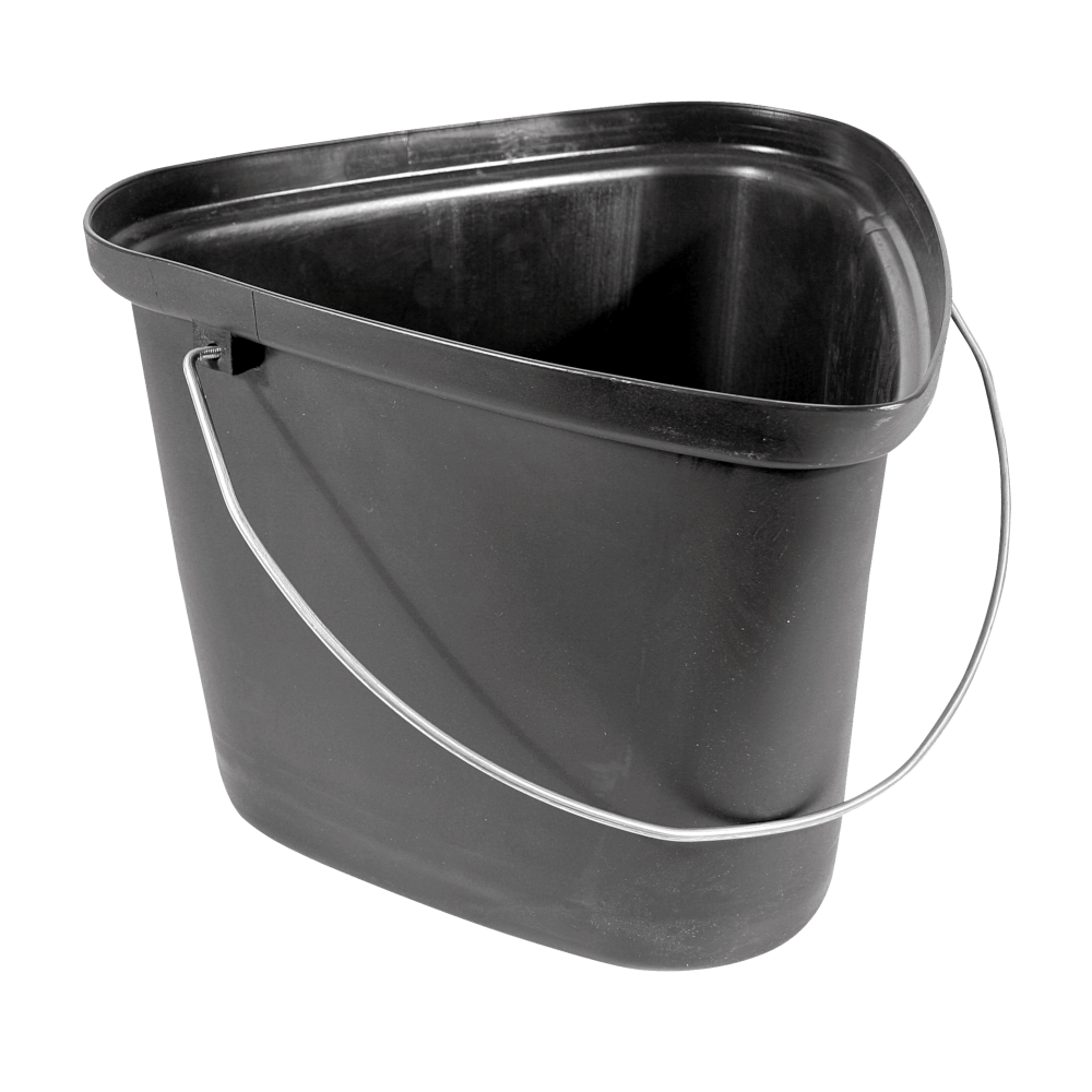 Builders Bucket Plastic Triangle
