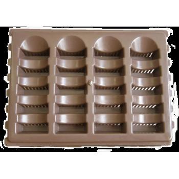 Air Brick Plastic Brown