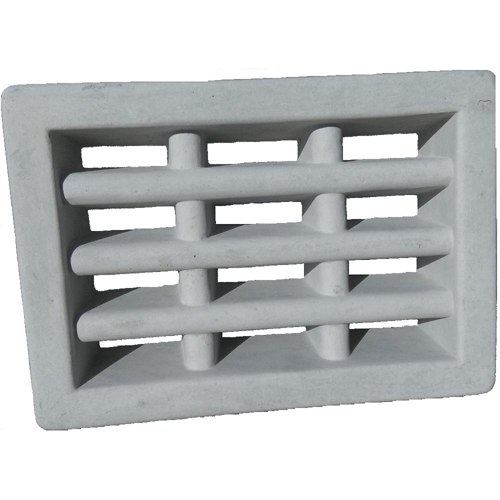 Air Brick Concrete 55mm Grey