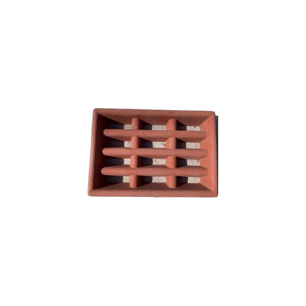 Air Brick Concrete Red