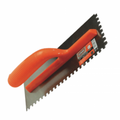 Adhesive Spreading Trowel With Teeth