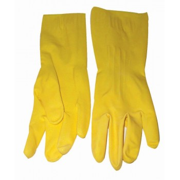 Gloves Latex Household Yellow 204mm
