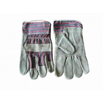 Gloves Chrome Leather 50mm Candy Stripe