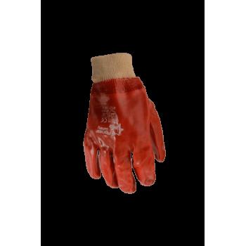 Gloves Pvc Knit Cuff 50mm