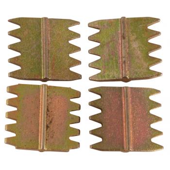 Scutch Comb 25mm 4 Piece
