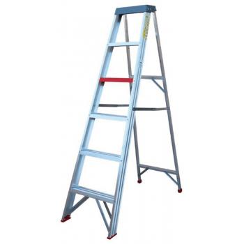 A-frame Ladder Aluminium 6 Step 1.8m