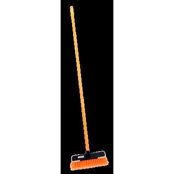 Funky Broom Screw In Metal Handle