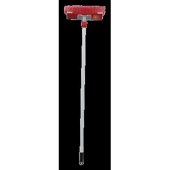 300mm Soft Bristle Securilock Delux Broom With Metal Handle