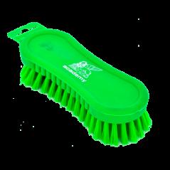 Scrub Brush Chubby Plastic Handle V/col