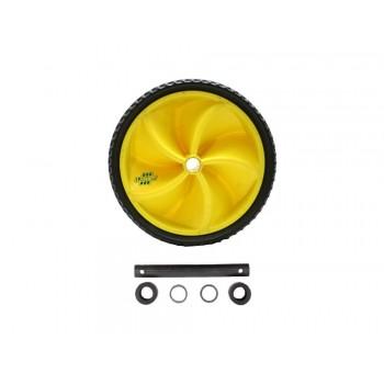 Lasher Wheelbarrow Wheel Plus Axle