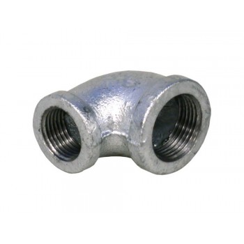 Galvanised Red Elbow 22mm X 15mm