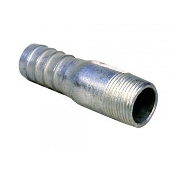 Galvanised Swage Nipple 22mm X 2