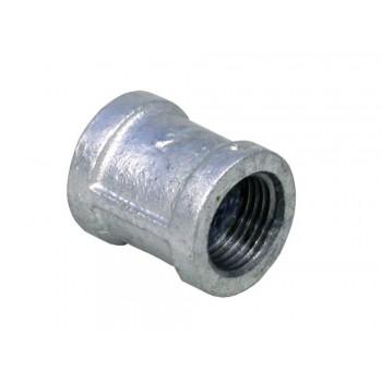 Galvanised Socket 22mm X 2