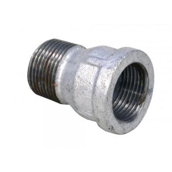 Galvanised Socket M&f 15mm