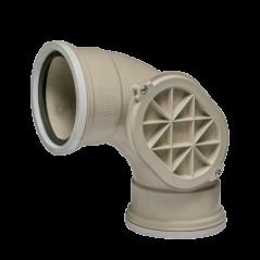 Underground Bend 110mm X 45 Deg Inspection Hole Sabs
