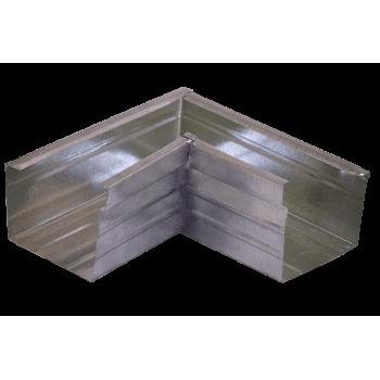 Corner Internal Galvanised 100x75x04mm