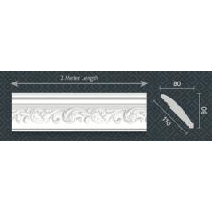 Majistiq Eps Cornice Fondue 110mm 3 Pack