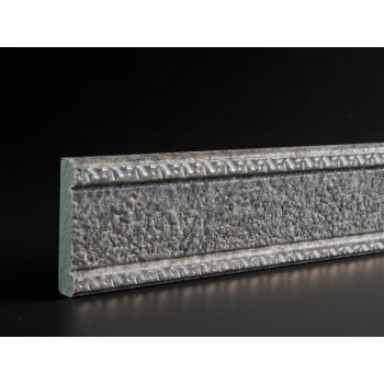 Stone Dado Rail Grey Large
