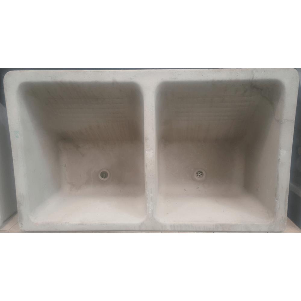 Wash Trough Concrete 1065 Double