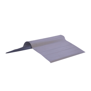 Ridge Rolltop Galvanised 1800x400x04mm